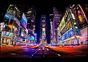 Times Square Overload by PatrickWally