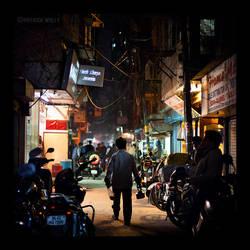 streets of delhi I by PatrickWally