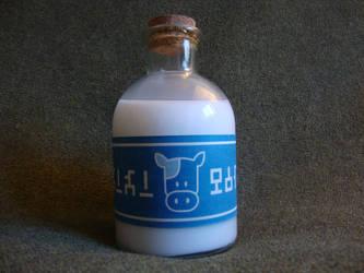 Lon Lon Milk Bottle by DerGrundel
