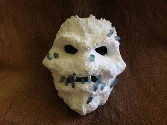 Frost Golem Mask by DerGrundel