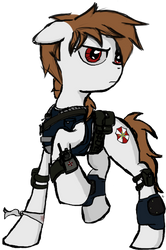 Crossfire's Resident Evil OC by xeno-scorpion-alien