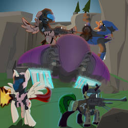 Blood Gulch is Magic by xeno-scorpion-alien
