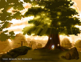 The Magical Forest - Concept by toddworld