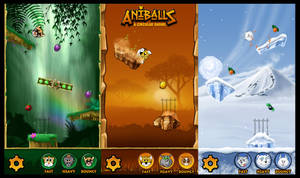 Aniballs Environments by toddworld