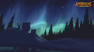 Aniballs Arctic at Night by toddworld