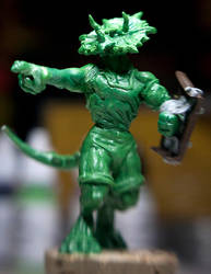 Commander Trice 3 Inch figure by toddworld