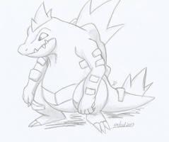 Feraligatr by she0wolf