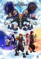 Kingdom Hearts 3 Poster by Raprankster