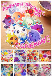 Worldwide giveaway - pokemon by circus-usagi