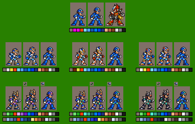 X: Armor Test V2 by DarkSamus993