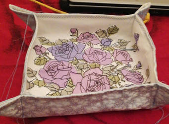 upcycling Bowl of cloth ( Handkerchief and dress) by IsaWBerlin