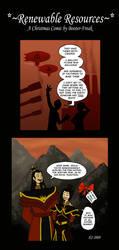 An Azula Christmas Comic by Booter-Freak
