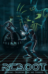 ReBoot TRON Poster by Booter-Freak