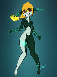 Quick Midna by Nephrited