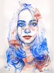 Billie Eilish by harry-virdy