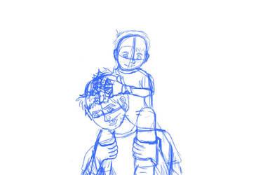 Jack and Randy Sketch by Weesie97
