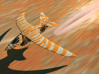 hawk orange by Alex-Brady-TAD