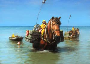 Sea Horses by Alex-Brady-TAD