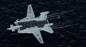 Soviet nuclear ekranoplan Smelost by Alex-Brady-TAD