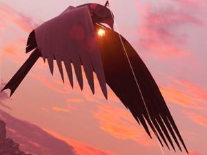 Harkonnen ornithopter sketches by Alex-Brady-TAD
