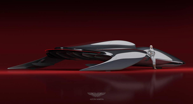 Aston Martin speeder by Alex-Brady-TAD