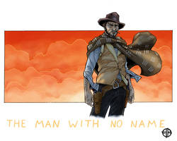 The Man With No Name by BrettBarkley