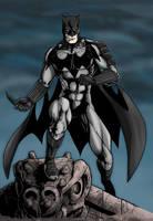 Batman 2.0 Costume Redesign by BrettBarkley