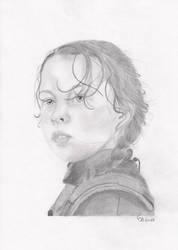 Jyn Erso - At Lah'mu by NomiDarklighter