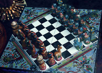 Peruvian chess game by VDragosPhotography