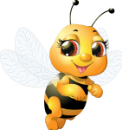 cute bee by VDragosPhotography