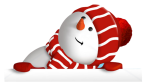 cute snowman by VDragosPhotography