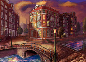 Amsterdam by heatherbunny