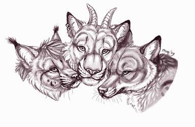 Group Hug by Maquenda