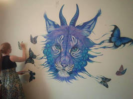 Mural WIP 3 by Maquenda