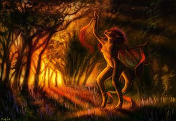 Sun Dance by Maquenda