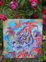 Flower Tiger by Maquenda