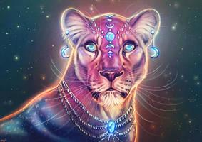 Lunar Lioness by Maquenda