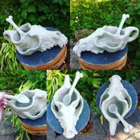 Skull bowl by Maquenda