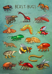 Beast Bugs by Maquenda