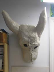 Halloween Bull Head by chicolet