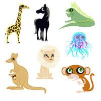 ABC Animals G-M by cottoncandrea