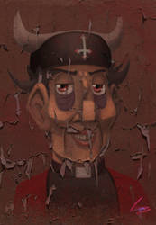 Devillowed Priest by studiotast