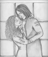 Snape and Granger by nene27
