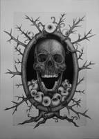 Skull fragments of a sick mind by kiki71