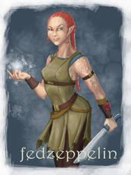 Elf-commission by fedzeppelin