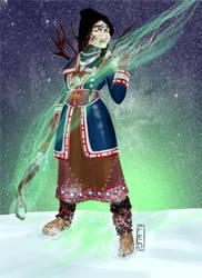 Lappish witch by fedzeppelin