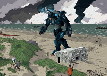 Pacific Rim Fan Art Contest: Opale Warden by Godforoth