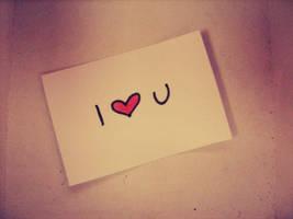 I love U by MateaLoncar