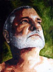 Self Portrait by lloyd-art