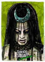 Enchantress - Suicide Squad Poster by elfantasmo